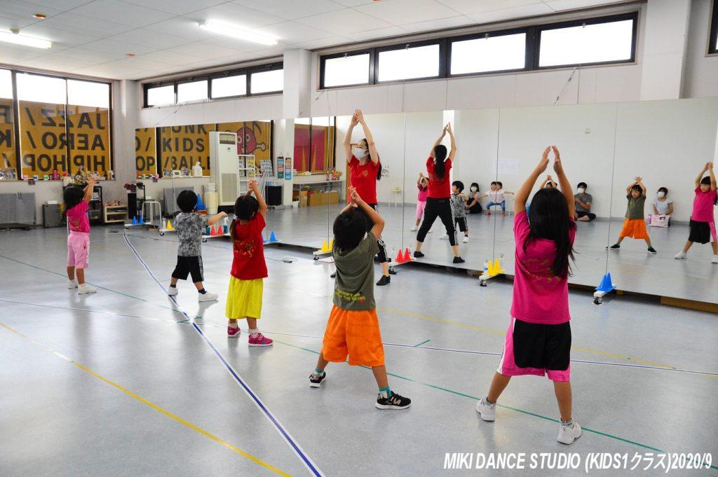 ミキダンススタジオ(キッズ1)レッスン風景